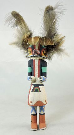 The Badger, Honan, is a healing Kachina.
