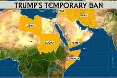 छह मुस्लिम देशों पर अमेरिकी यात्रा प्रतिबंध लागू | Punjab Kesari