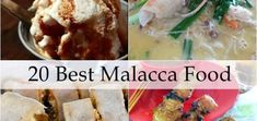 26 Best Malacca Food And Where To Find Them (Updated) Malaysia Travel, Malaysian Food, Recipes From Heaven, A Food, Eat, Breakfast, Ethnic Recipes, Travel List, Places