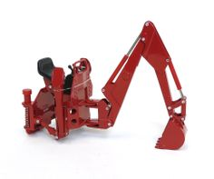 1/16th Red Rear Backhoe Attachment by Ertl