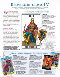 Reading the Emperor card