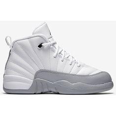 Air Jordan 12 Retro (10.5c-3y) Little Kids' Shoe. Nike.com ($80) ❤ liked on Polyvore featuring jordan 12