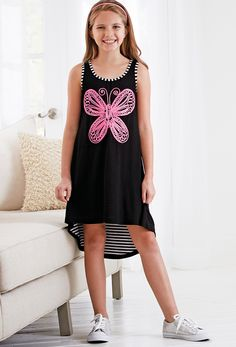 From CWDkids: Butterfly High-Low Dress.