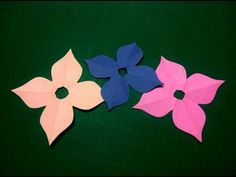 Easy Flower Paper Cutting Patterns Diy Kirigami Paper Cutting Craft
