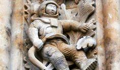 El astronauta de la catedral de Salamanca: ¿Extraterrestres antiguos? se revela…