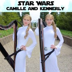 An Electric Harp Duet Version of John Williams' 'Star Wars Main Theme' by the Harp Twins