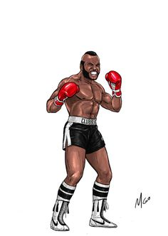Page of Rocky Series Characters illustrated by MGO Rocky Balboa Movie, Rocky Film, Cartoon Photo, Cartoon Art, Boxe Fight, Rocky Series, 80 Tv Shows, Fighting Poses, Scary Art