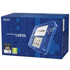 Videoconsola nintendo 2DS azul transparente #friki #android #iphone #computer #gadget