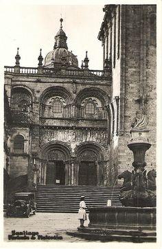 Fotos antiguas de Santiago de Compostela Plaza de