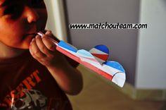 www.matchouteam.com avion papier et paille