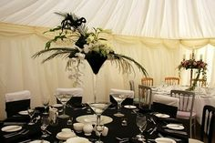 Flower Design Events: As Promised Some Detail Shots of the Table Designs from The Lytham Hall Wedding Fayre this Weekend