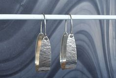 Sterling Silver Hoop Earrings Textured by StudioLsquared on Etsy Sterling Silver Hoops, Silver Hoop Earrings, Silver Plate, Range, Texture, Jewellery, Studio, Etsy, Cookers
