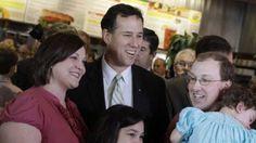 5. #prezpix #prezpixrs  election 2012  candidate: Rick Santorum   publication: Fox News  photographer: AP   publication date: March 11