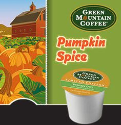 Get your pumpkin spice latte fix right from your Keurig with these Green Mountain Pumpkin Spice K-Cups!