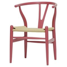 Play room. Check out this item at One Kings Lane! Wishbone Chair, Red