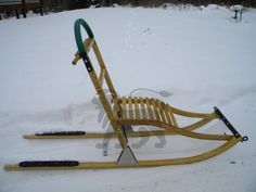 kick dog sled kicksled