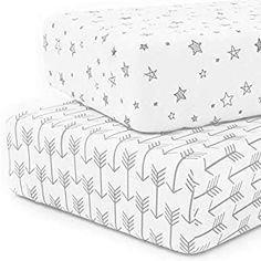 Perfect for your Baby and Nursery Crib Sheet Set 100% Jersey Cotton, 2-Pack, Fitted Cotton Baby & Toddler Universal Crib Sheets Unisex,Crib Sheet Set 100% Jersey Cotton, 2-Pack, Fitted Cotton Baby & Toddler Universal Crib Sheets Unisex, 🙌🏻 RIDICULOUSLY SOFT. Rid your nursery of thin, scratchy cotton and enjoy these silky-soft, Award-Winning Crib Sheets that will keep your baby cozy and...