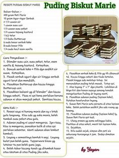 Pudding Desserts, Pudding Cake, Pudding Recipes, Cake Recipes, Dessert Recipes, Asian Cake, Agar, Layer Cakes, Juicing