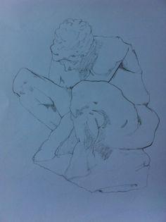 Squatting man Art, Art Background, Kunst, Art Education