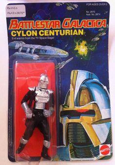 Mattel's Battlestar Galactica Action Figures (Series One) (1978 ...