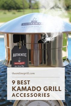 One of the things that keeps the popularity of kamado grills on the rise is their flexibility, and this is largely down to the amount of add-ons and accessories you can get for your grill.In this post we take a look at the 9 best accessories for your kamado grill, and recommend our favorites. Best Kamado Grill, Bbq Grill, Flat Top Grill, Ceramic Grill, Best Charcoal, Kamado Joe, Lighter Fluid, Grill Accessories, Getting Fired