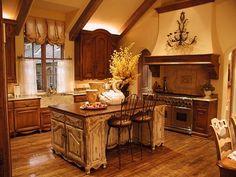 Tuscan inspired kitchen ♥