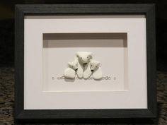 Original Pebble Art DesignPolar BearsPebble