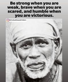 Sai Baba Quotes, Baba Image, Baby Krishna, Ascended Masters, Om Sai Ram, Inspirational Posters, Lord Shiva, Captions, Love Quotes