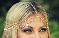 Disc Chain Headpiece