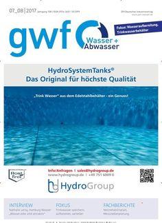 Interview mit Nathalie Leroy, #Hamburg Wasser: #Wasser-Jobs sind attraktiv 👷💦 Jetzt in gwf_Wasser:  #water #Abwasser