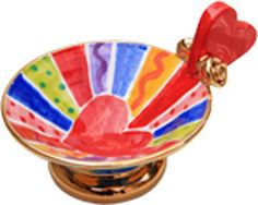 Mary Rose Young  Heart Edged Candy Dish