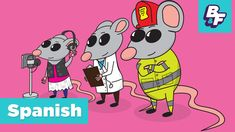 Learn Spanish the fun way with nursery rhyme! This children song on Professions will teach you how to say simple Spanish words like Teacher, Police, Doctor a...