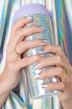Tips and tricks for getting the best holographic manicure!