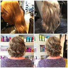 Earlier this week Creative Stylists Emma and Jess worked together to achieve our client's desired look. Jess used TIGI Professional's Copyright Colour and Olaplex to add a gorgeous new tone, followed by a cut and restyle with Emma. Moroccanoil, S Factor by TIGI Flat Iron Shine Spray and S Factor Vivacious Volume Hairspray completed the finished style.