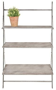 Esschert Design AM66 Foldable Wall Plant Ladder, Large >>> Awesome product. Click the image : Gardening DIY