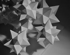 "Check out new work on my @Behance portfolio: ""Dodecahedrons — paper sculpture"" http://be.net/gallery/56981365/Dodecahedrons-paper-sculpture"