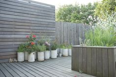 Concrete Planters at Brondesbury Park from JJ Locations | Gardenista