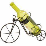 Boston Warehouse > boston warehouse > ceramics and entertaining > beer & wine accessories > VINEYARD ROAD BIKE WINE RACK BOTTLE HOLDER