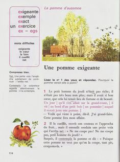 High School French, French Classroom, Education English, English Lessons, French Language, Winnie, Short Stories, Books, Learn French