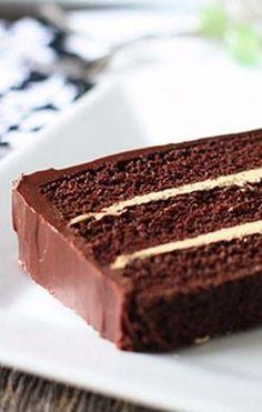Chocolate Cake & Espresso Buttercream | My Baking Addiction