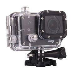 GIT1 Action Camera - Pro Edition - 1080p HD + WiFi Functionality - Sony IMX322 Sensor.