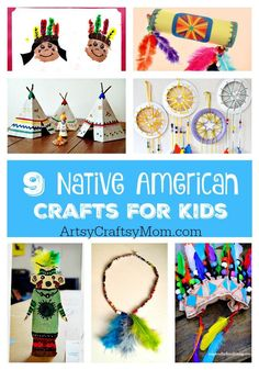9 Native American Crafts for Kids