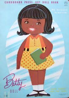 Bonecas de Papel: Betty