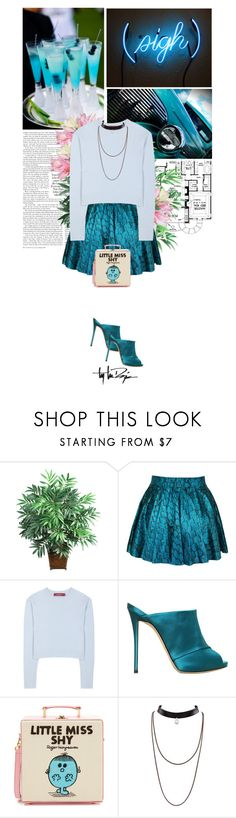 """""""be mine. just mine."""" by eve-angermayer ❤ liked on Polyvore featuring Nearly Natural, Sies Marjan, Giuseppe Zanotti, Olympia Le-Tan, Troy Lee Designs, Blue, turquoise, eveangermayer and angermayerevelin"""