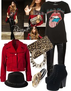 """Rocker"" by rsnyde ❤ liked on Polyvore"