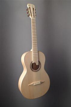 Ivanov Guitars Snow Parlor Acoustic Guitar