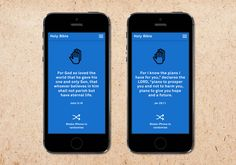 studio family rebrands the holy bible with a design-friendly iPhone app