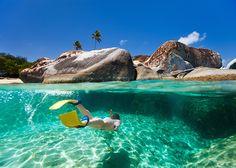 Mergulhos fenomenais nas Ilhas Virgens Britânicas