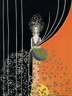 """Winter"" by Erté"