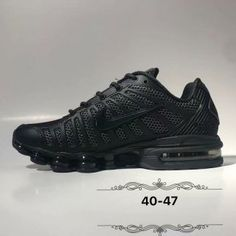 new arrival 91555 5a998 Mens Nike Air Shox TL3 Footwear Triple black Crecer Cabello, Nike Air Max,  Hombres